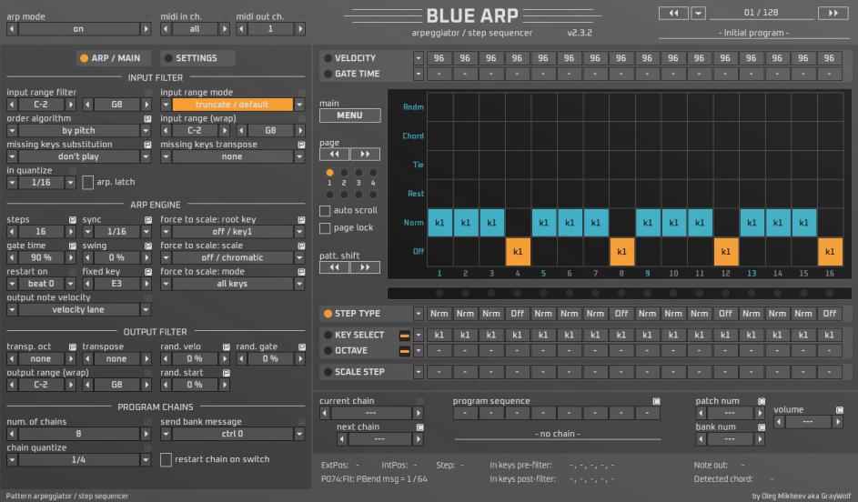 Blue Arp Ableton Skin