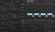 Blue Arp Dark Theme