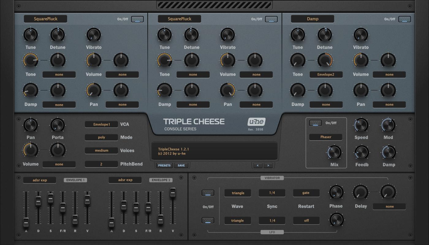 Console TripleCheese